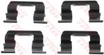 Комплектующие, колодки дискового тормоза Trw PFK523