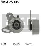 Натяжной ролик, ремень грм Skf VKM 75006