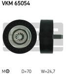 Паразитный / ведущий ролик, поликлиновой ремень Skf VKM 65054