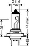 Лампа накаливания, фара дальнего света Osram 64210