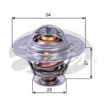 Термостат, охлаждающая жидкость Gates TH22779G1