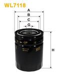 Масляный фильтр Wix Filters WL7118