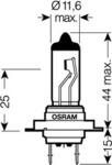 Лампа накаливания, фара дальнего света Osram 64210ULT