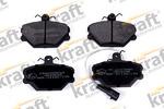 Комплект тормозных колодок, дисковый тормоз Kraft Automotive 6003060