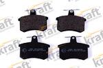 Комплект тормозных колодок, дисковый тормоз Kraft Automotive 6010030