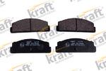 Комплект тормозных колодок, дисковый тормоз Kraft Automotive 6013090