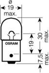Лампа накаливания, фонарь указателя поворота Osram 5008 ULT_02B