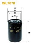 Масляный фильтр Wix Filters WL7070