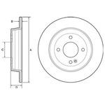 Тормозной диск Delphi BG4564