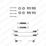 Комплектующие, тормозная колодка Delphi LY1122