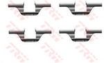 Комплектующие, колодки дискового тормоза Trw PFK320
