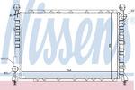 Радиатор, охлаждение двигателя Nissens 60034