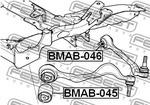 Подвеска, рычаг независимой подвески колеса Febest BMAB046