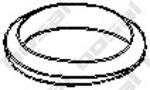 Прокладка, труба выхлопного газа Bosal 256994