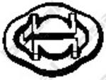 Резиновые полоски, система выпуска Bosal 255032