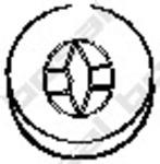 Резиновые полоски, система выпуска Bosal 255317