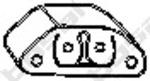 Резиновые полоски, система выпуска Bosal 255973