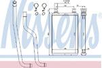 Теплообменник, отопление салона Nissens 70978