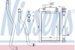 Теплообменник, отопление салона Nissens 70979