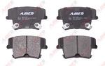 Комплект тормозных колодок, дисковый тормоз (задний мост) Abe C2Y020ABE